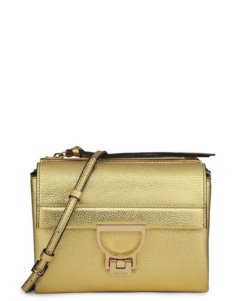 petit sac dorée Coccinelle