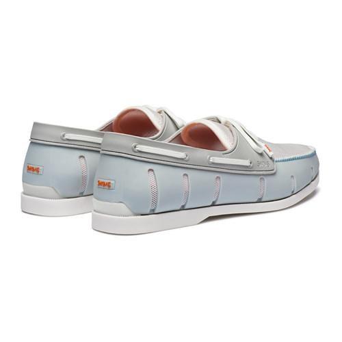 Chaussures bateau blanche Swims