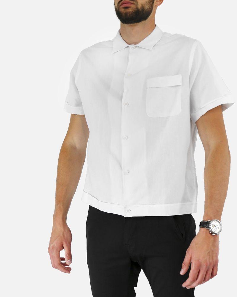 Chemise en tissu japonais blanc Edition M.R