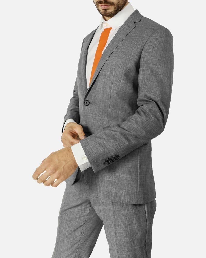 Costume Gris Marchand Drapier