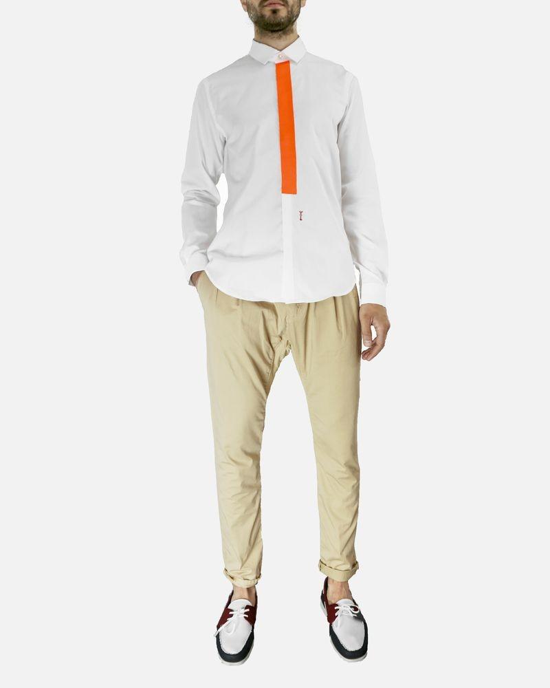 Pantalon beige Les Hommes