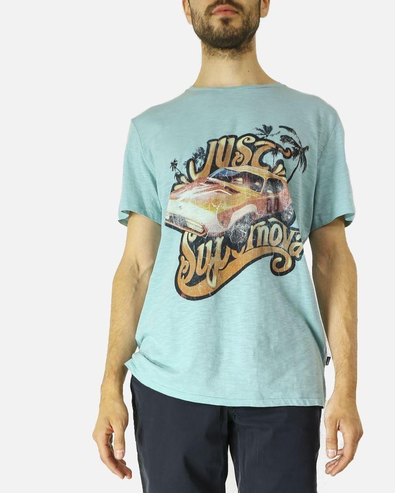 T-shirt Vert Roberto Cavalli