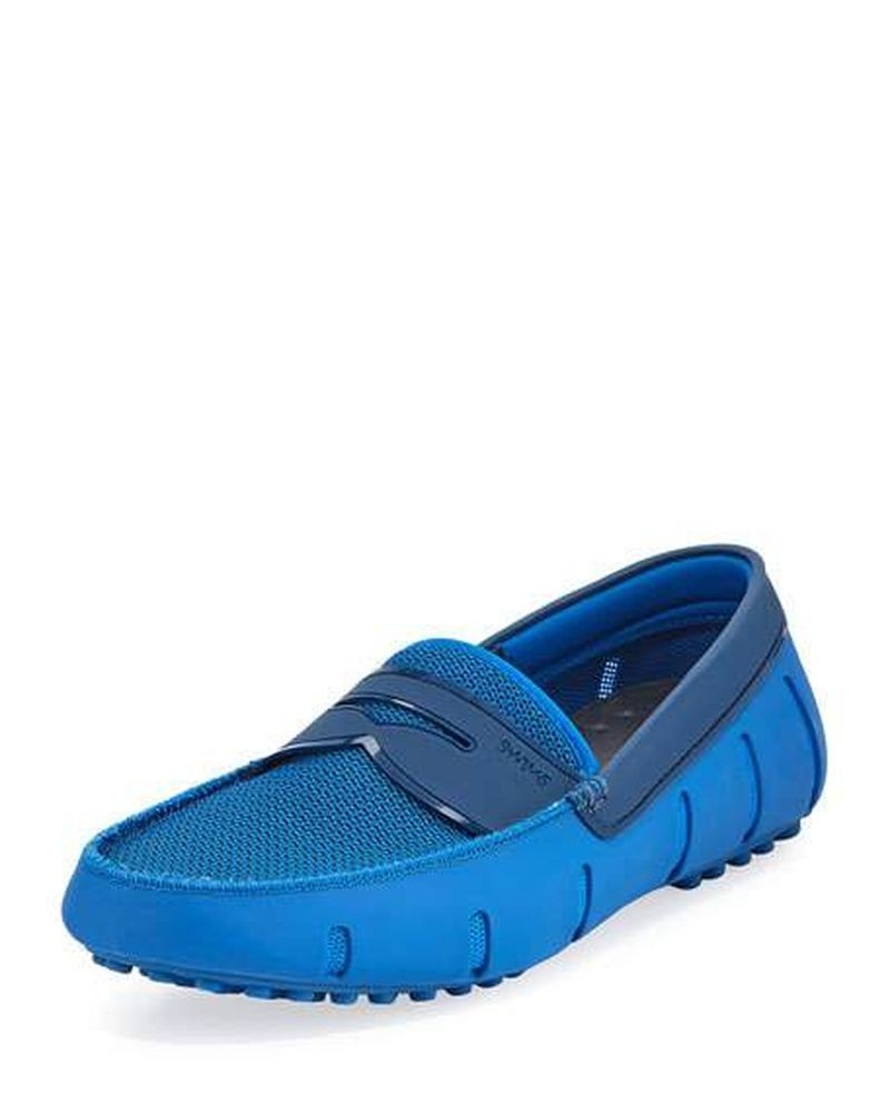 Chaussures mocassins bleue Swims