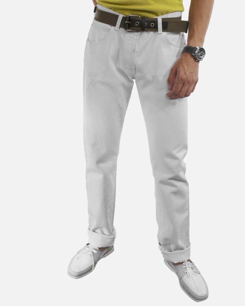 Jean régular blanc Dolce & Gabbana