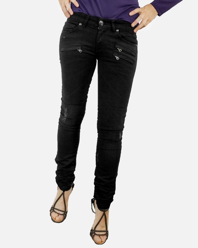 Jean noir à poches fantaisie Balmain