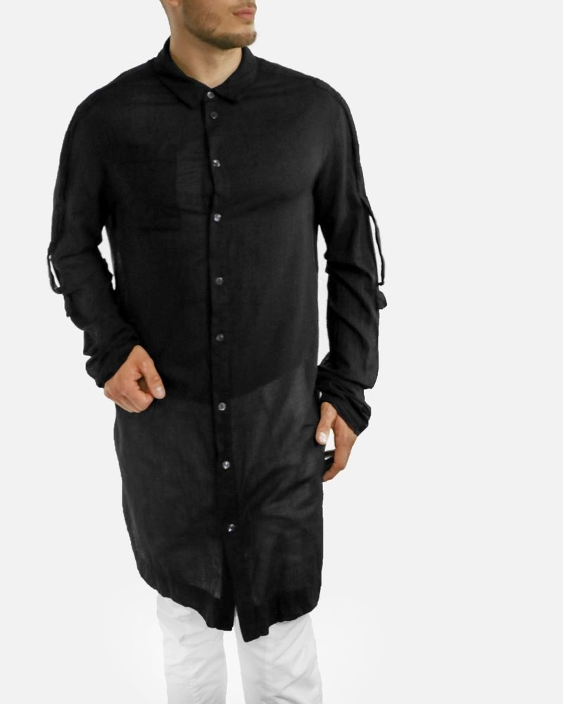 Chemise noire ample Lost & Found