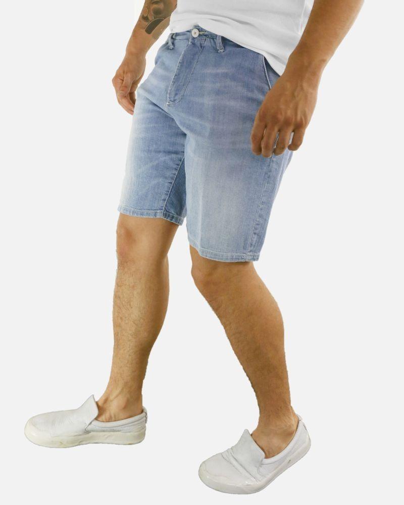 Bermuda en jean bleu clair Perfection