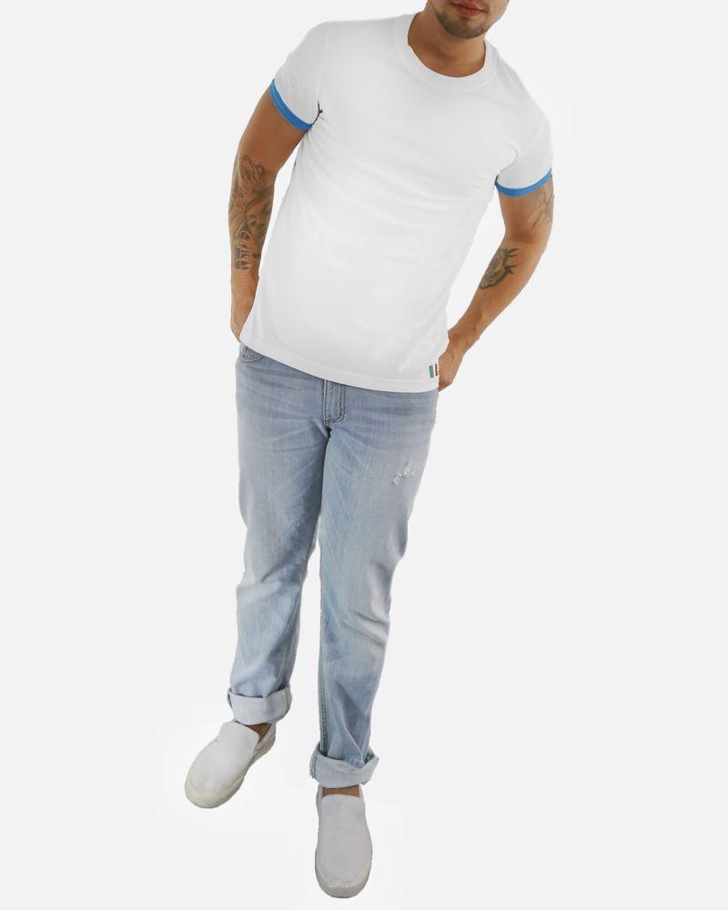 T-shirt blanc à manches fantaisie Dolce & Gabbana