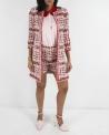 Jupe en tweed rose Edward Achour