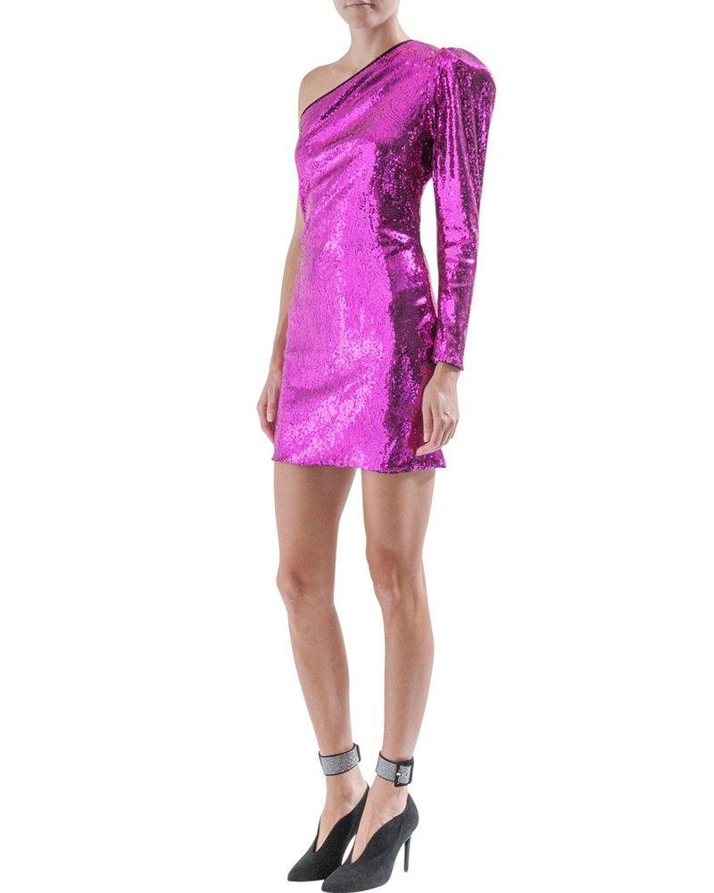 Robe à sequins rose Space Simona Corsellini