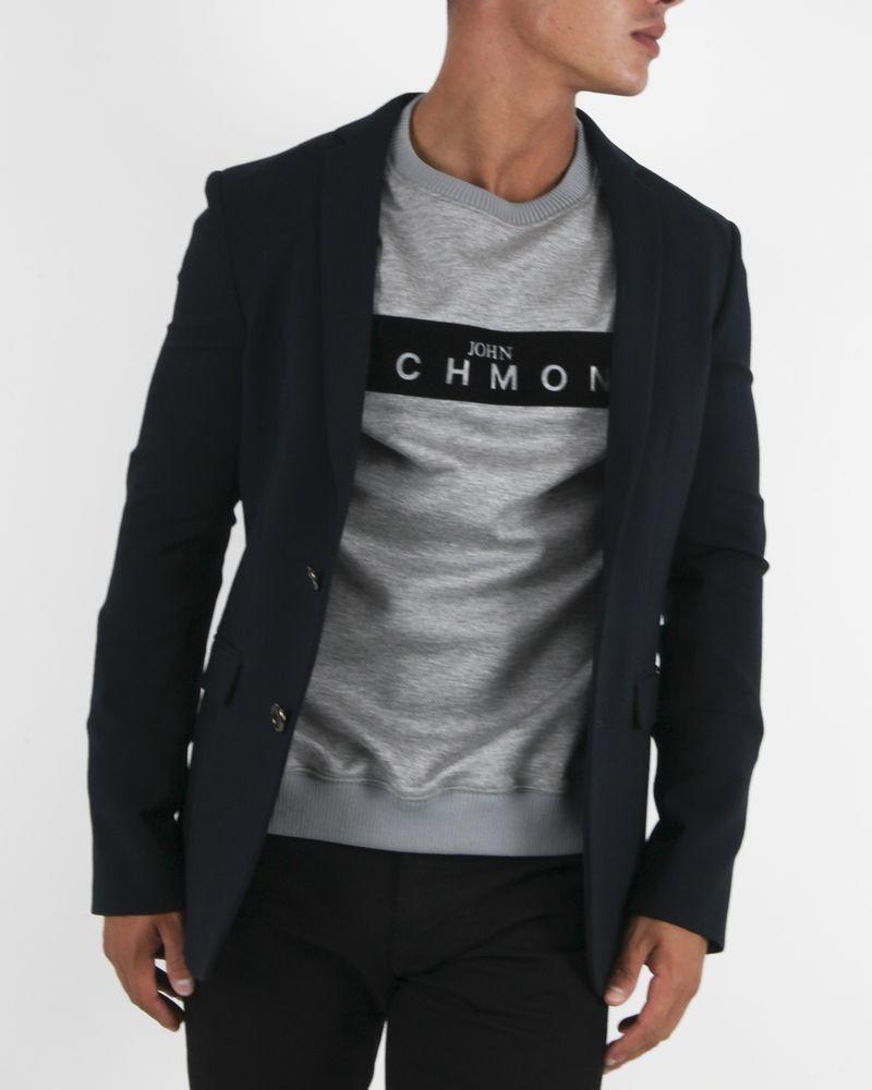 Veste de costume bleu Marchand Drapier
