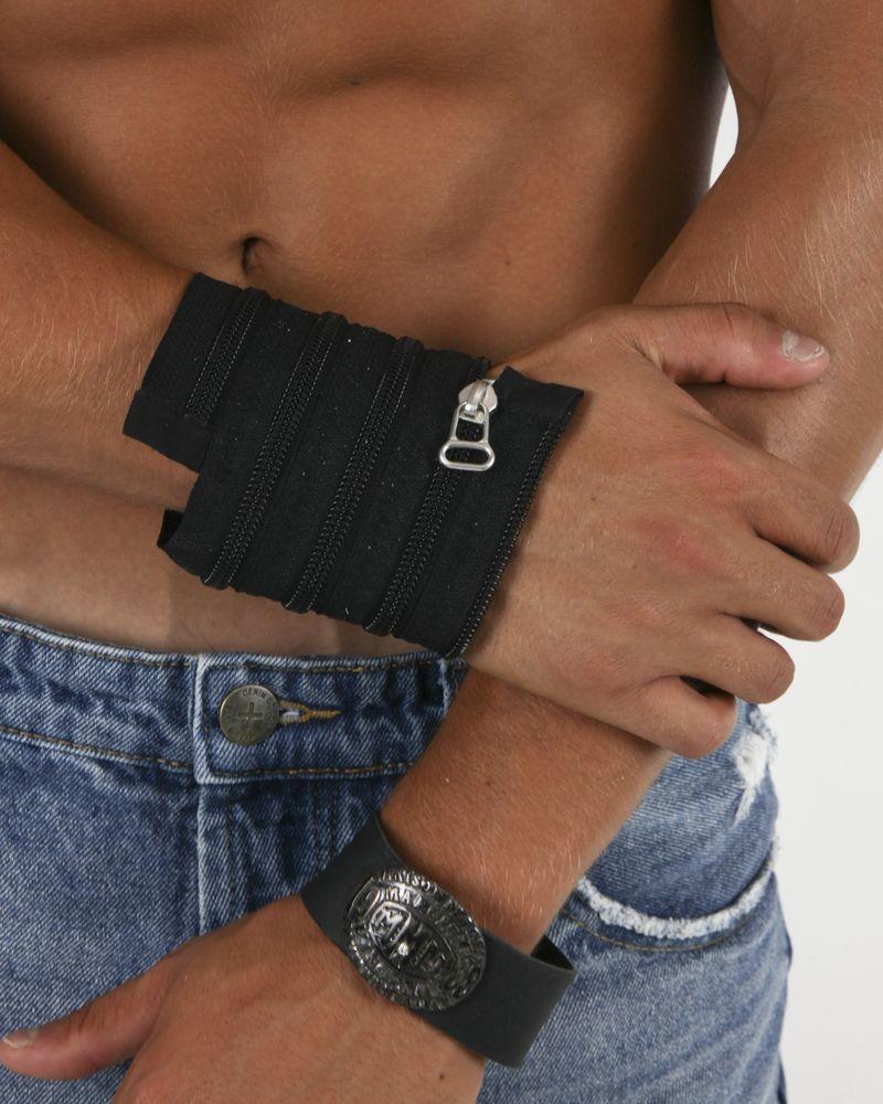 Bracelet noir avec boucle Marigiela Maison Margiela