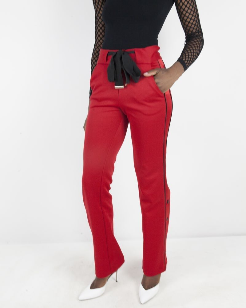 Pantalon rouge Space Simona Corsellini