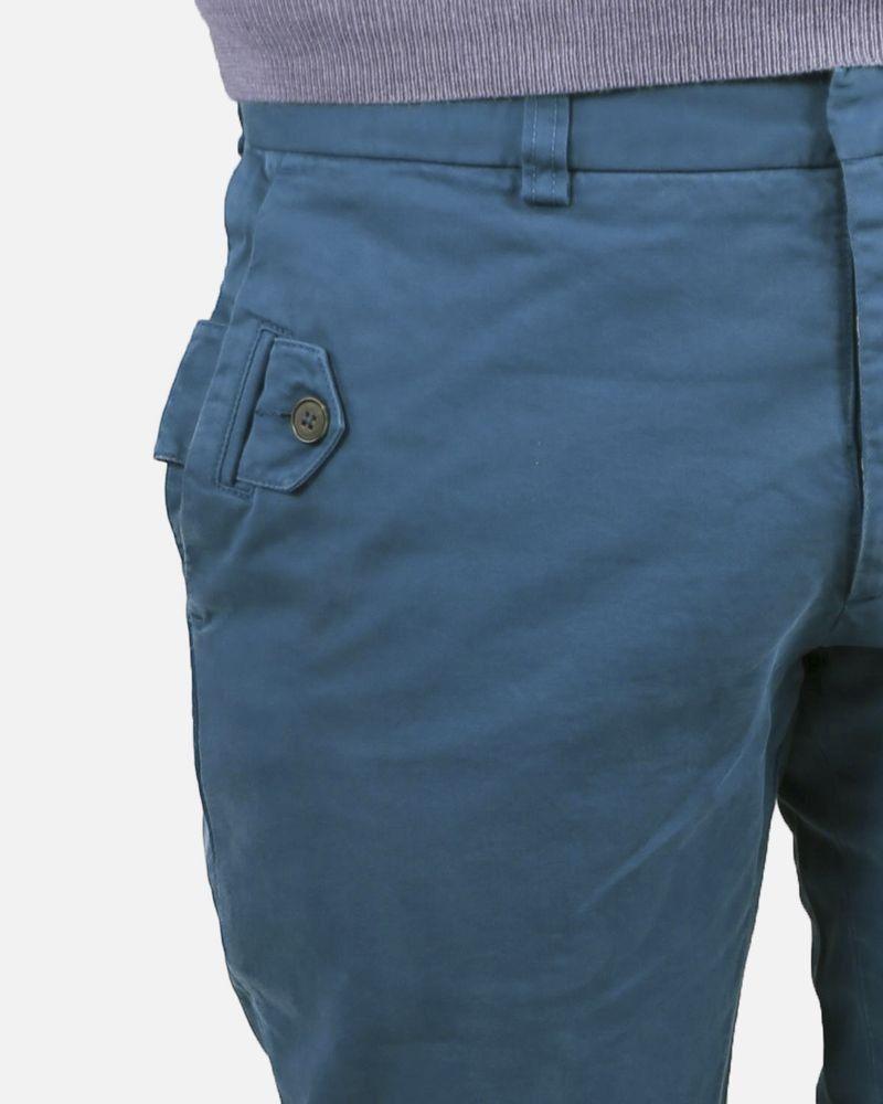 Pantalon bleu Marchand Drapier