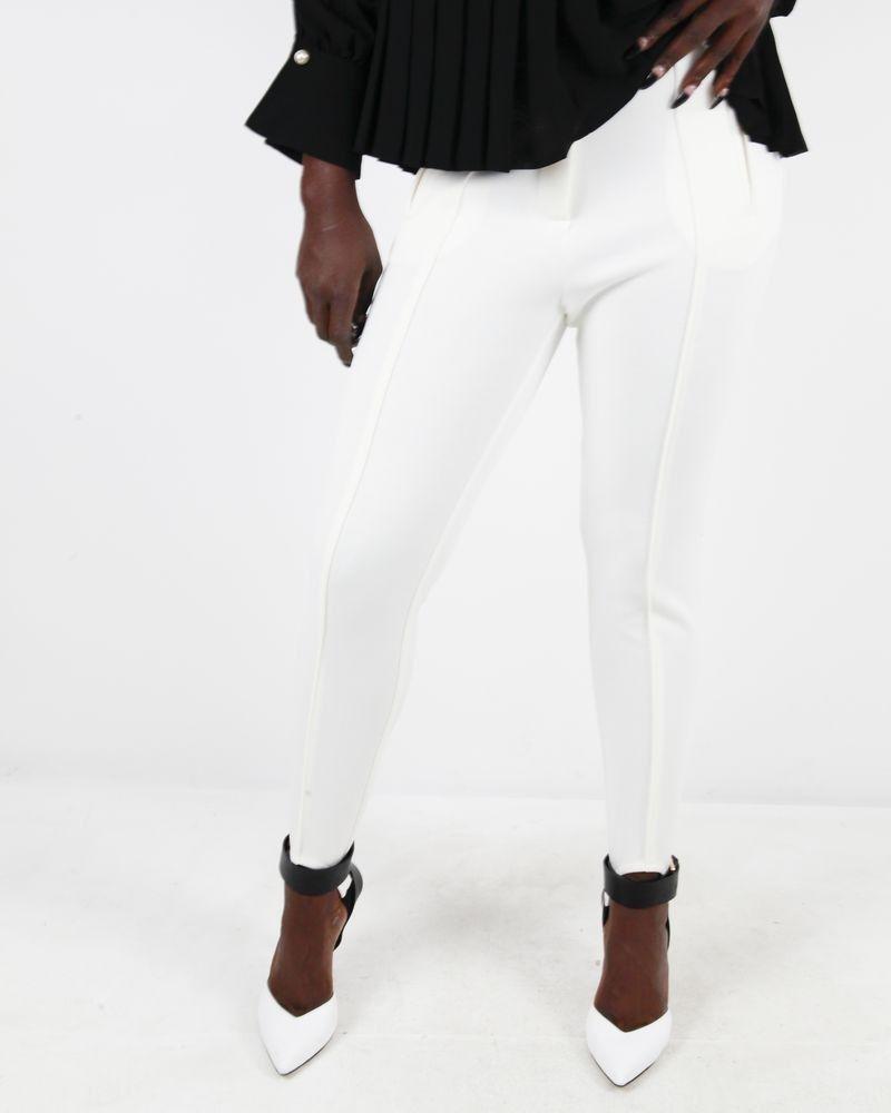 Pantalon blanc Space Simona Corsellini