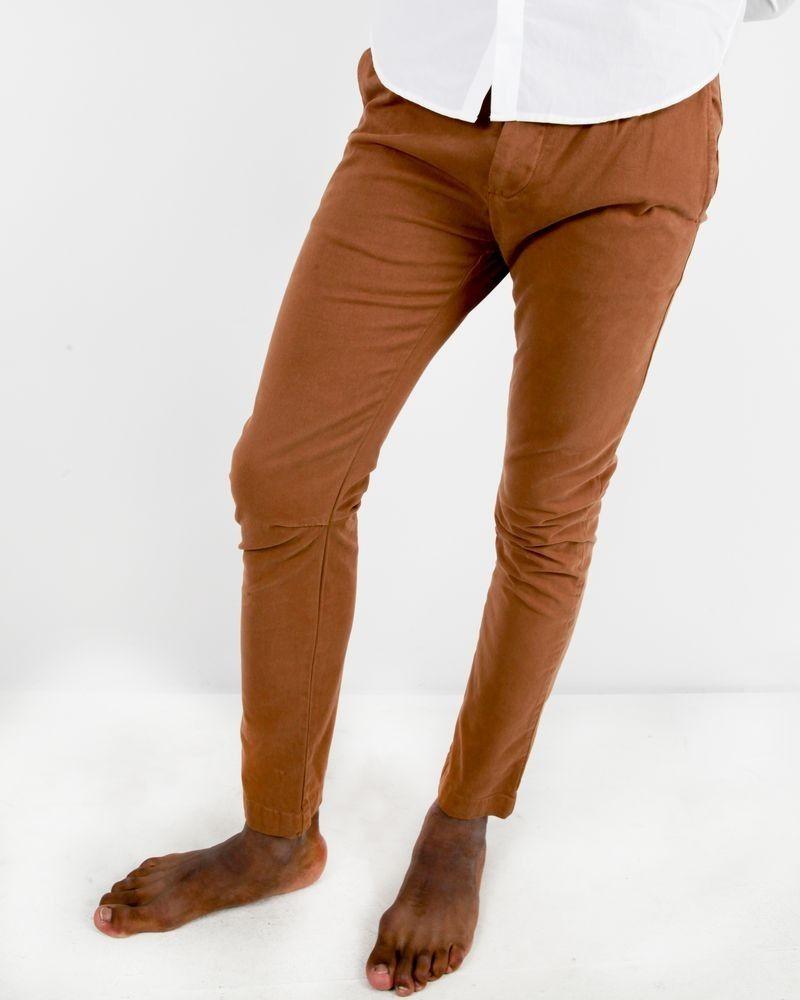 Pantalon camel Manostorti