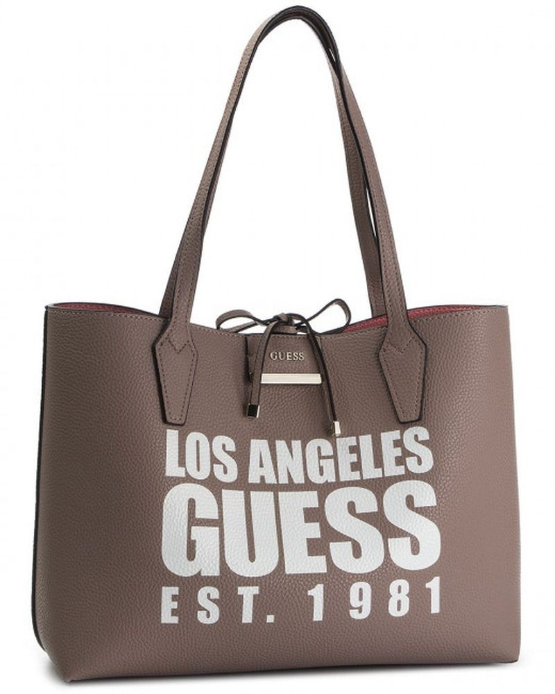 Sac a main rose reversible Guess