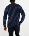 Pull col rond bleu Panicale