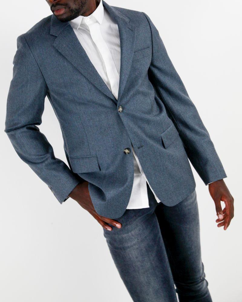 Veste en laine bleue Edition M.R