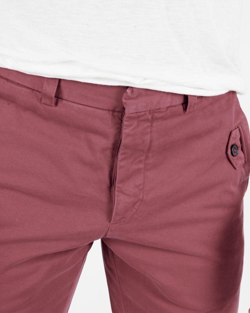 Pantalon rouge Marchand Drapier