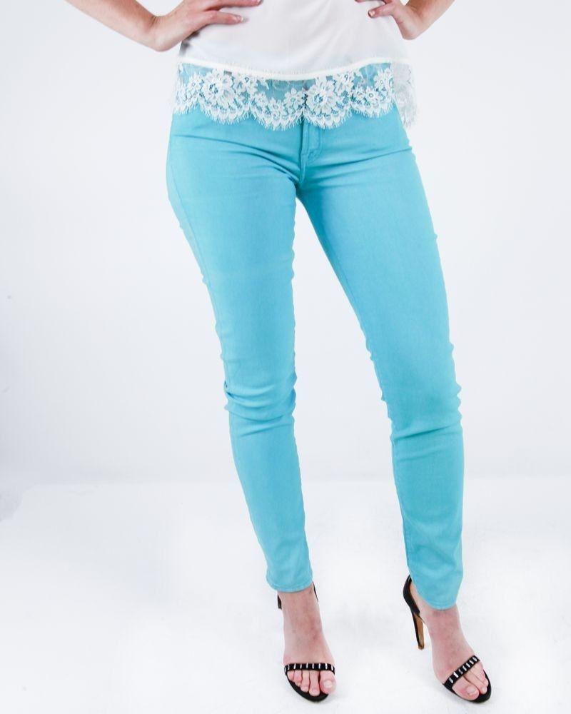 Pantalon skinny bleu 7forallmankind