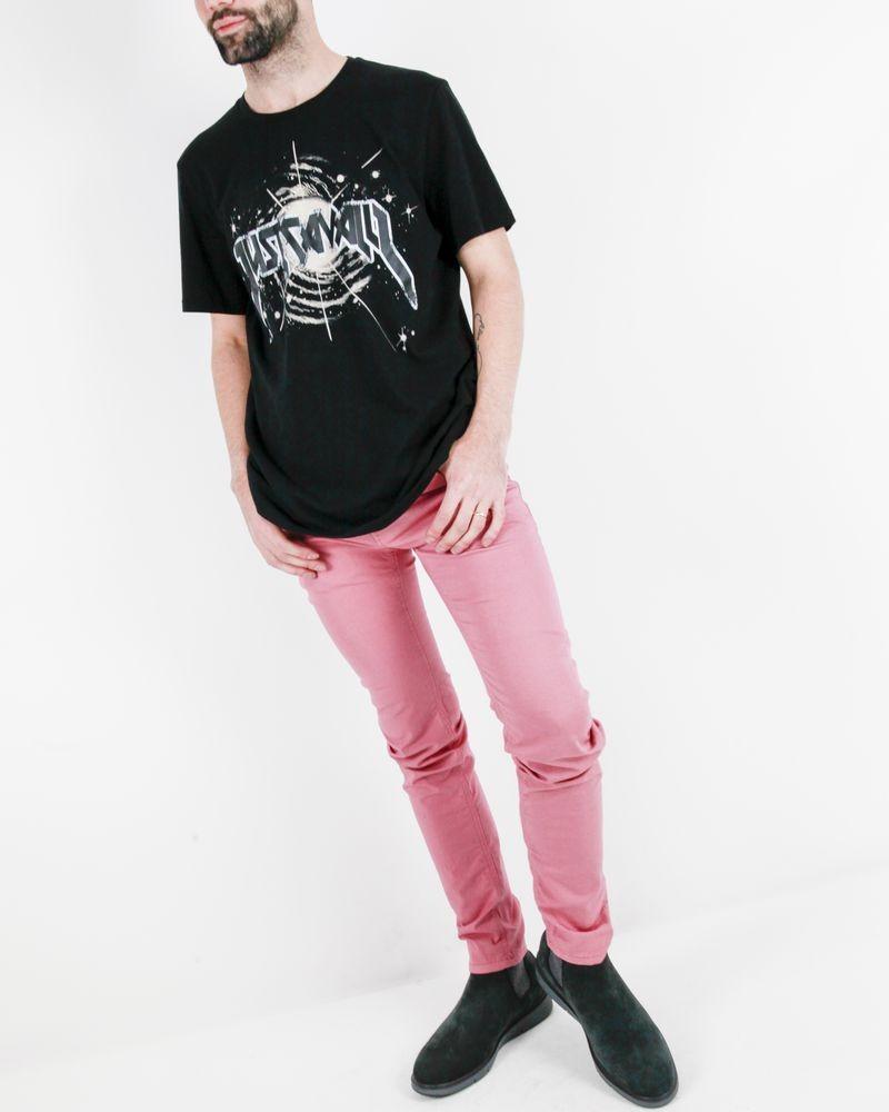 T-Shirt noir en coton Roberto Cavalli