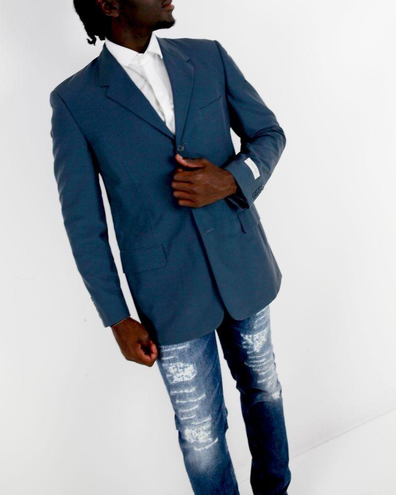 Veste en coton bleu Calvin Klein