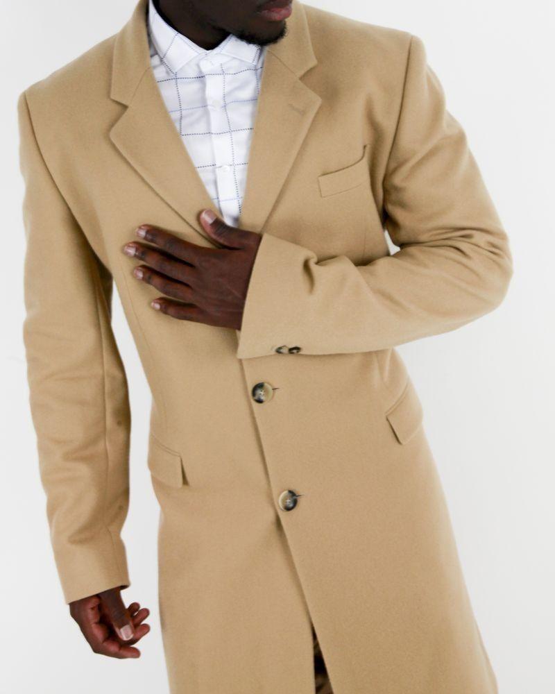 Manteau en laine camel Edition M.R