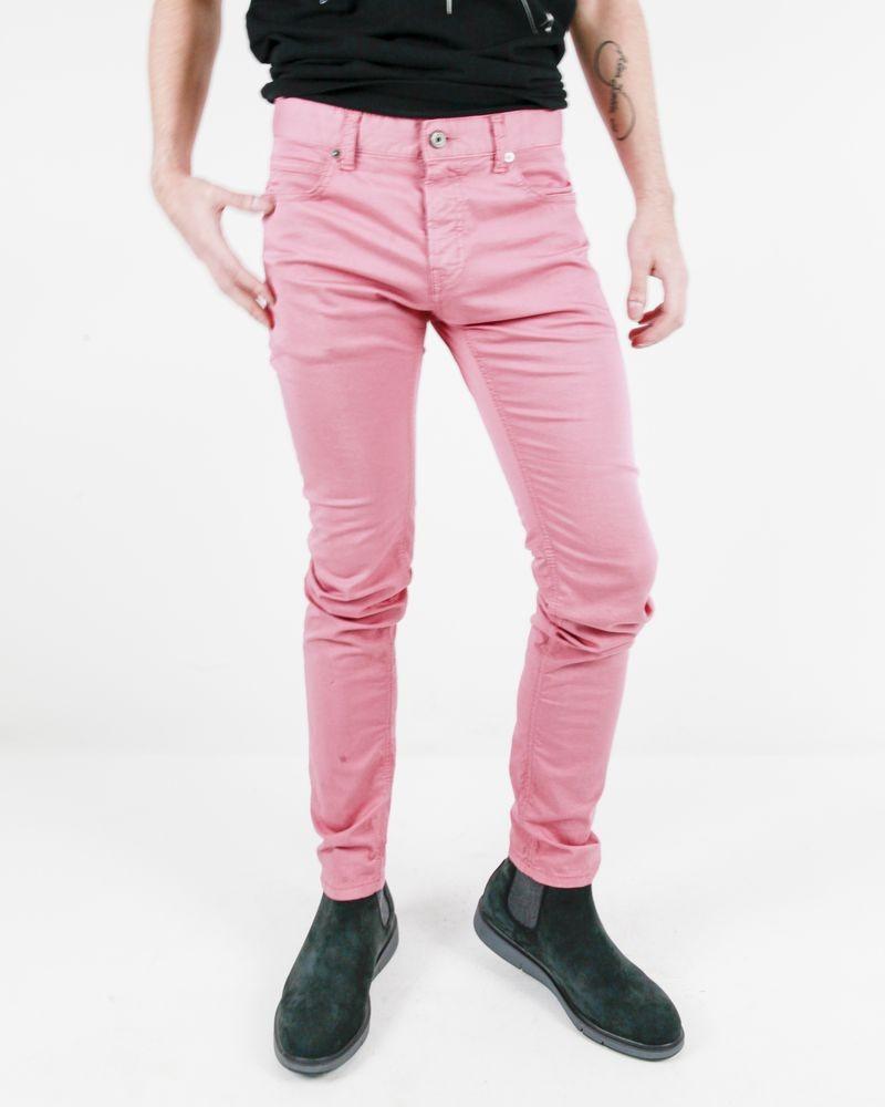 Pantalon skinny vieux rose Roberto Cavalli