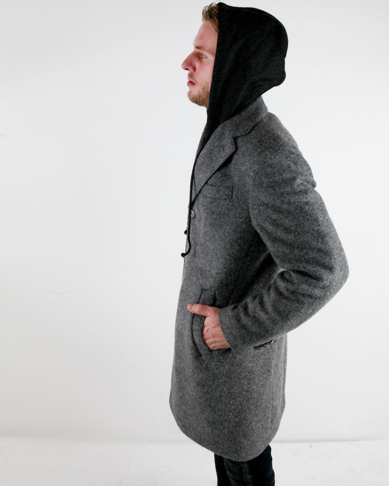 capuche Luca en laine Manteau bouillis Roda gris cher Outle pas à rdBCoeWx