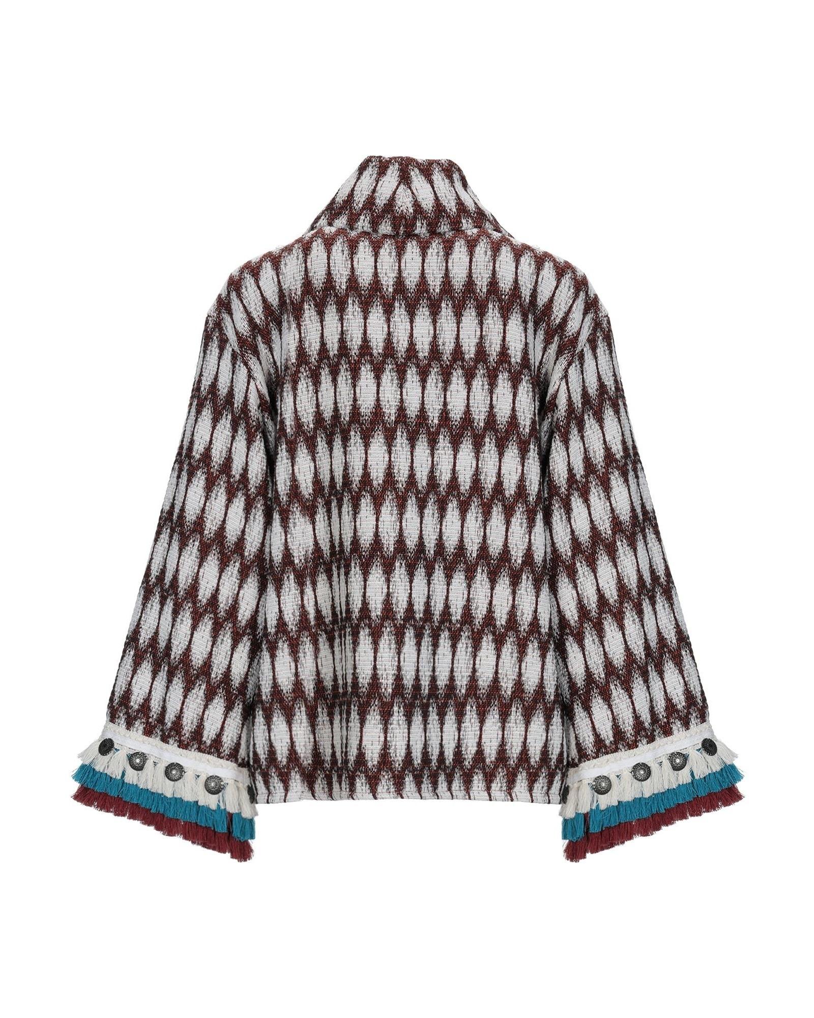 Veste en tweed à broderies ethniques Jijil