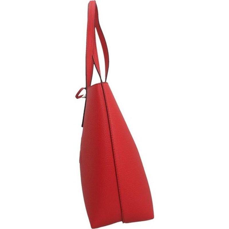 Sac à main cabas rouge reversible à pochette Guess pas cher