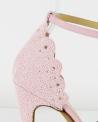 Sandales rose Aperlai