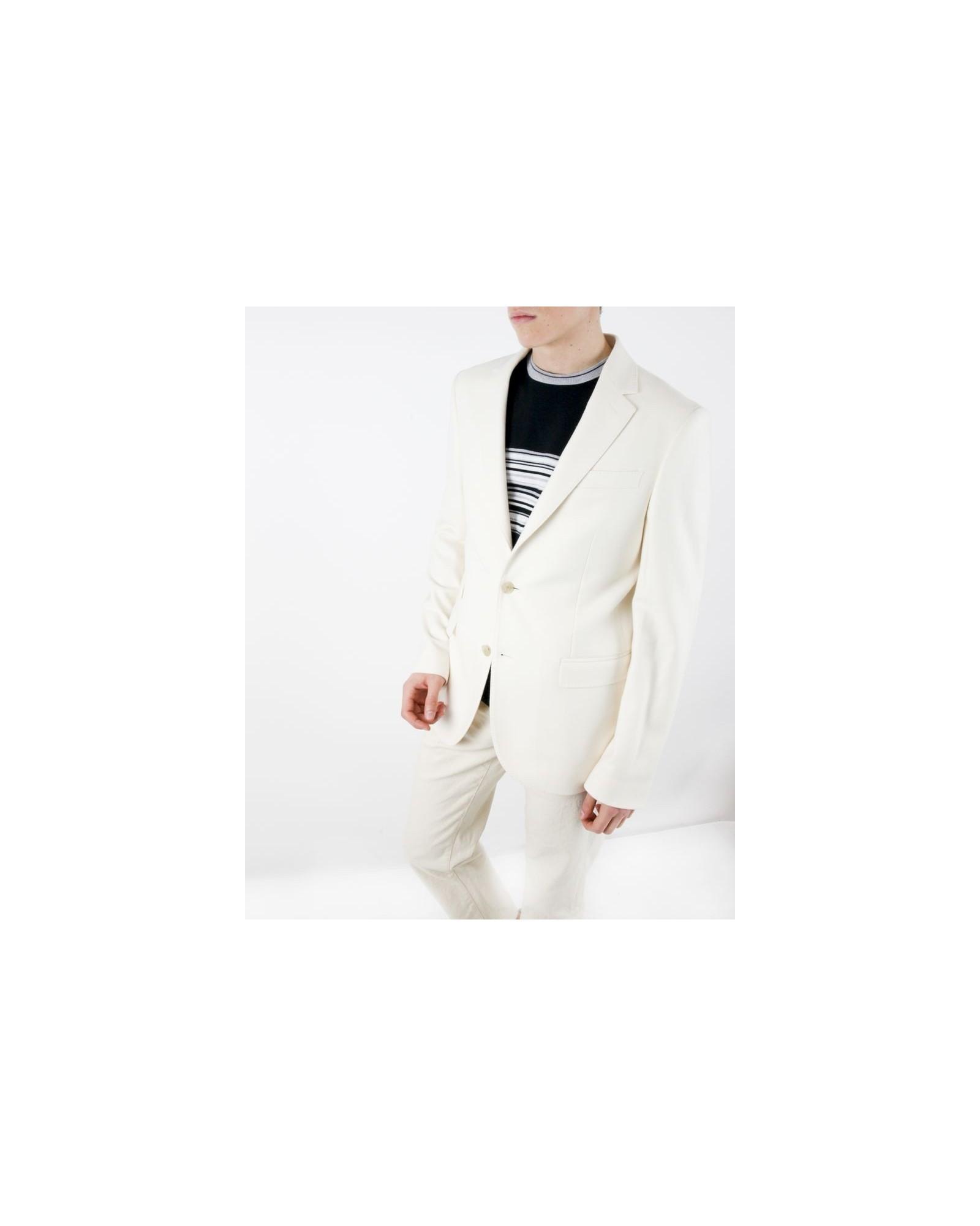 Veste en laine blanche Tommy Hilfiger