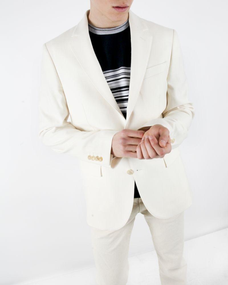 Veste prestige en angora blanc Tommy Hilfiger