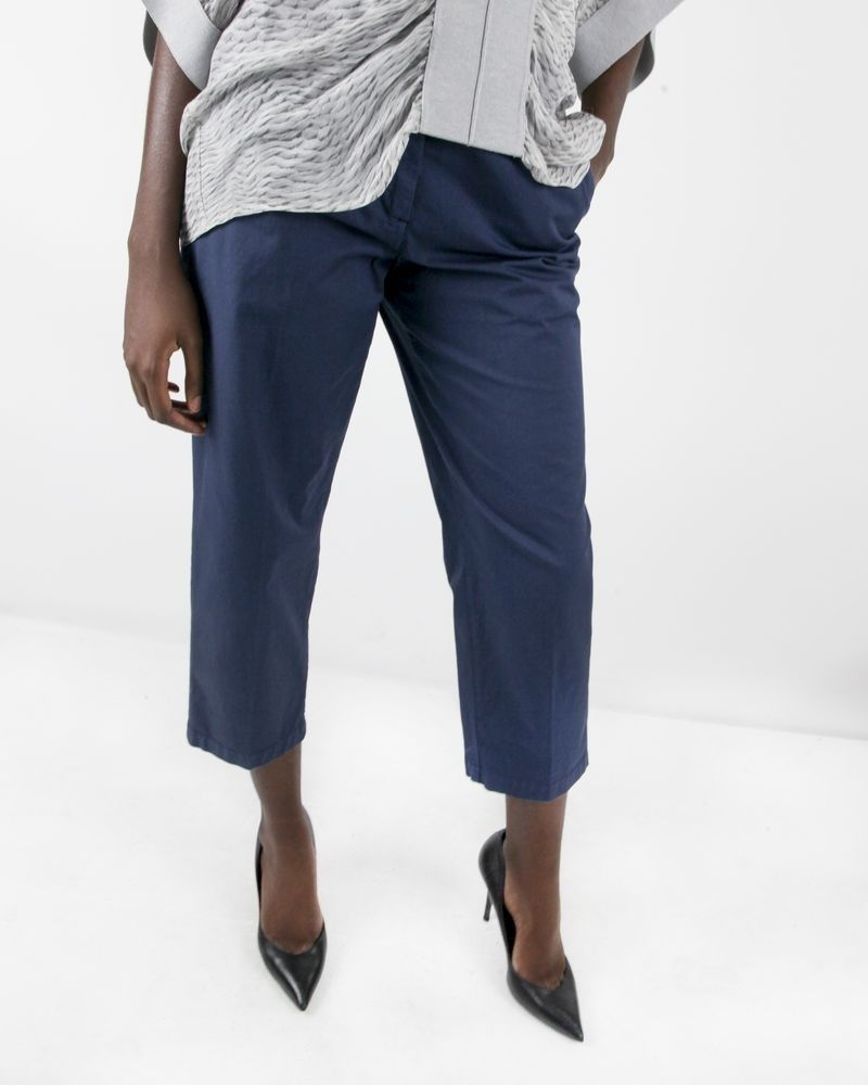 Pantalon chino palazzo bleu Department 5