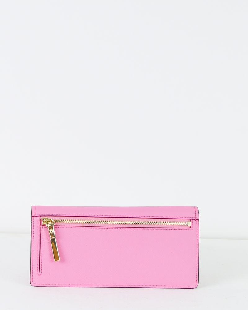 Porte feuille rose Kate Spade