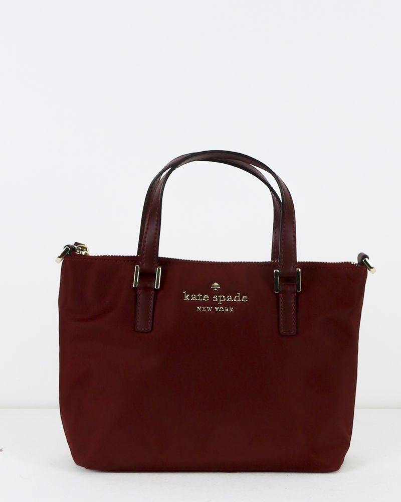 Petit sac cabas violet Kate Spade