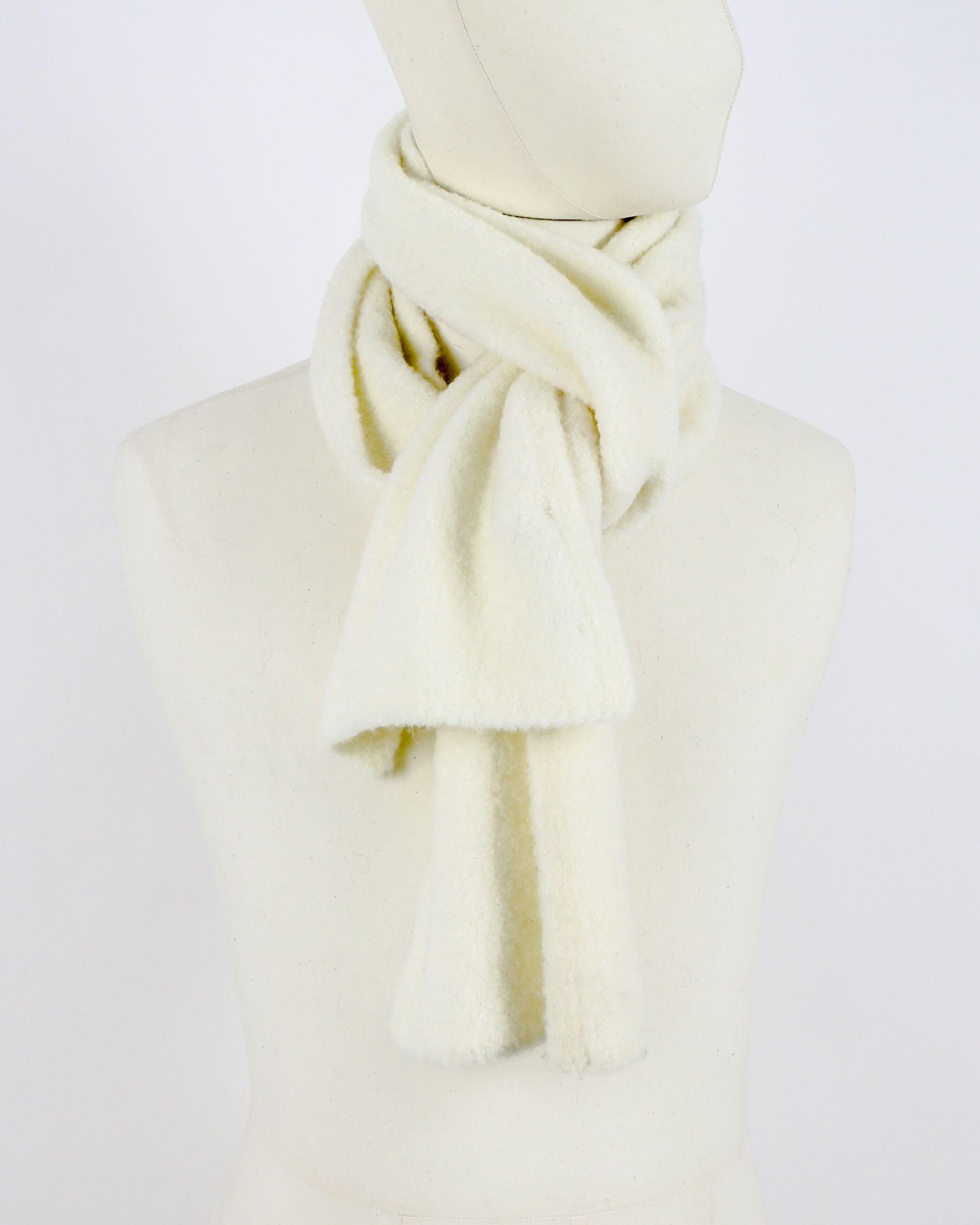 Echarpe beige en laine Woolgroup
