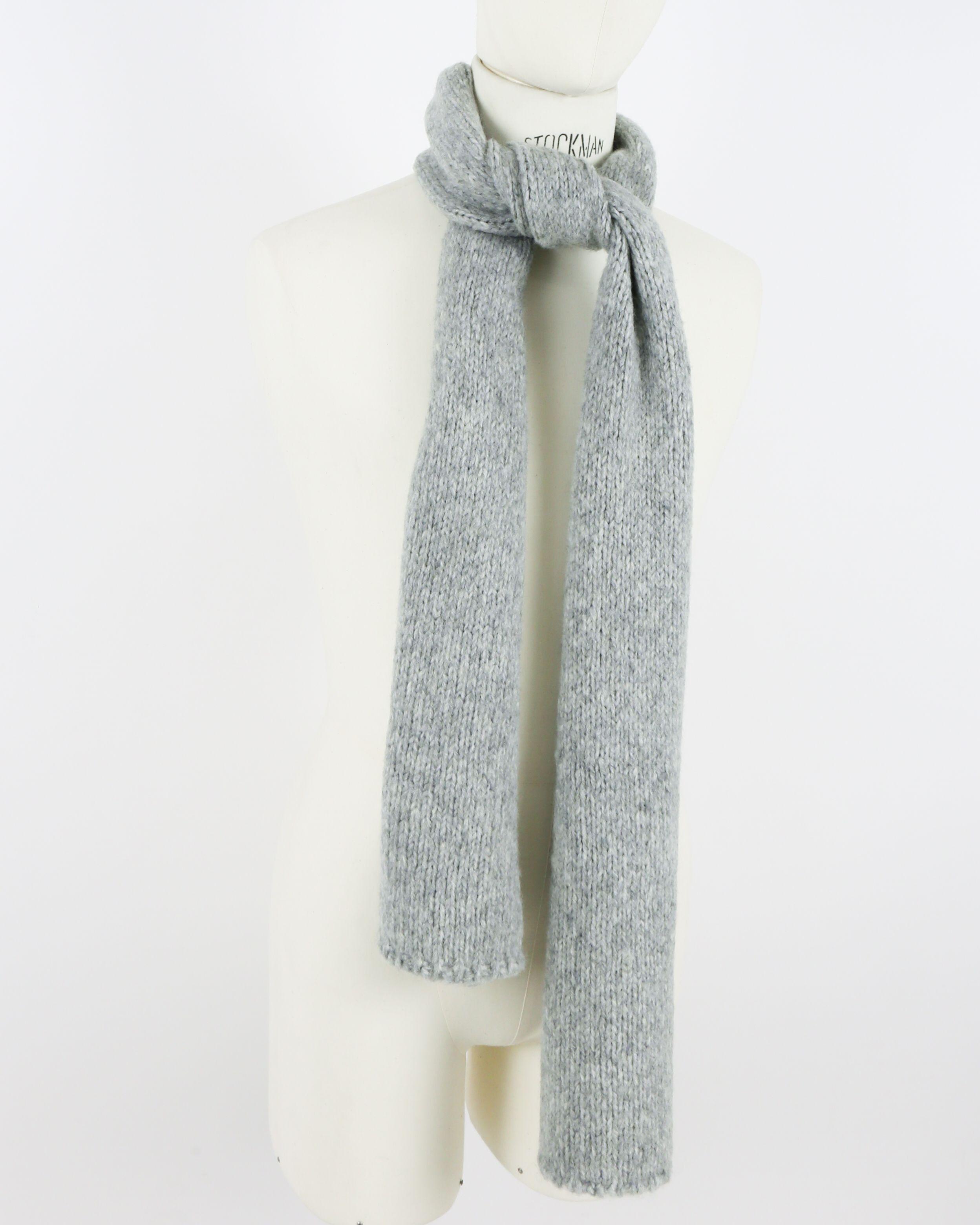 Echarpe grise Woolgroup
