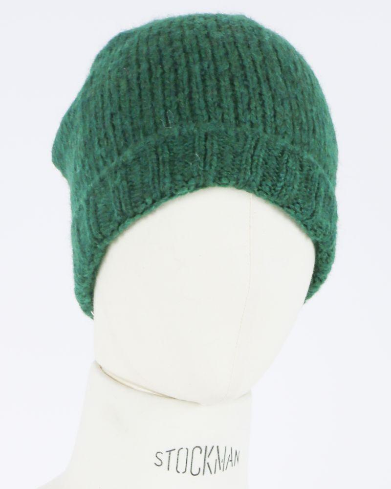 Bonnet vert Woolgroup