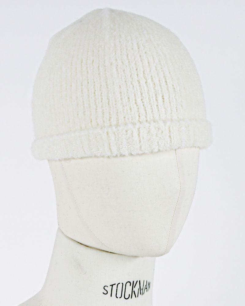 Bonnet blanc Woolgroup