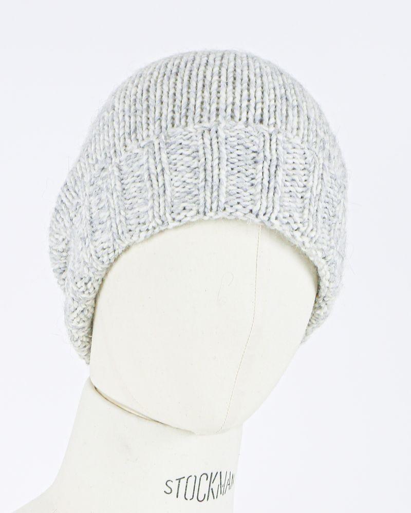 Bonnet gris Woolgroup