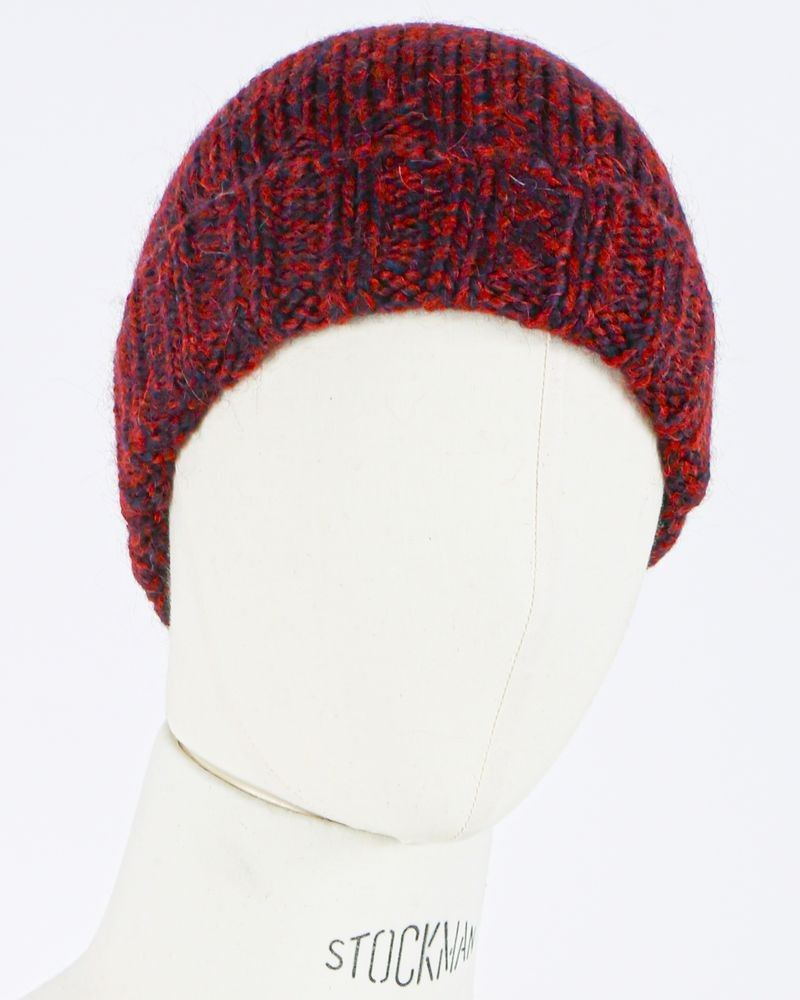 Bonnet bordeaux Woolgroup