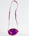 Sac pochette à hologramme violet Kate Spade