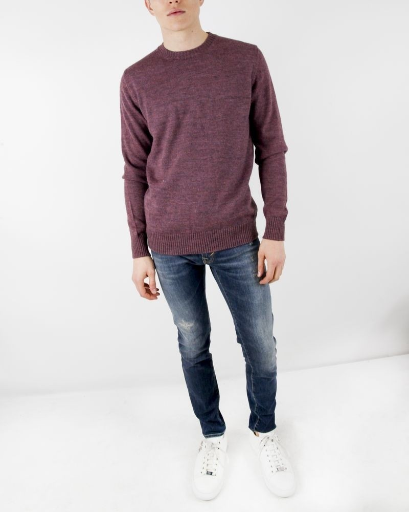 Pull rose col rond Panicale Cashmere