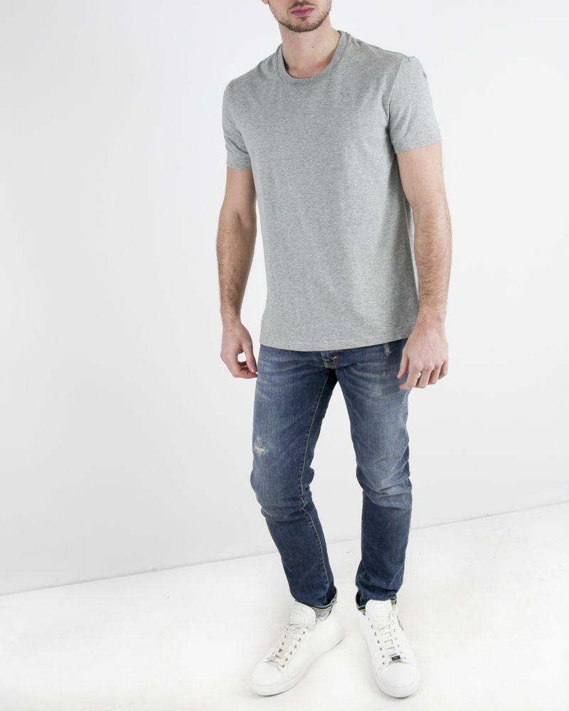 T-Shirt en coton gris Dolce & Gabbana