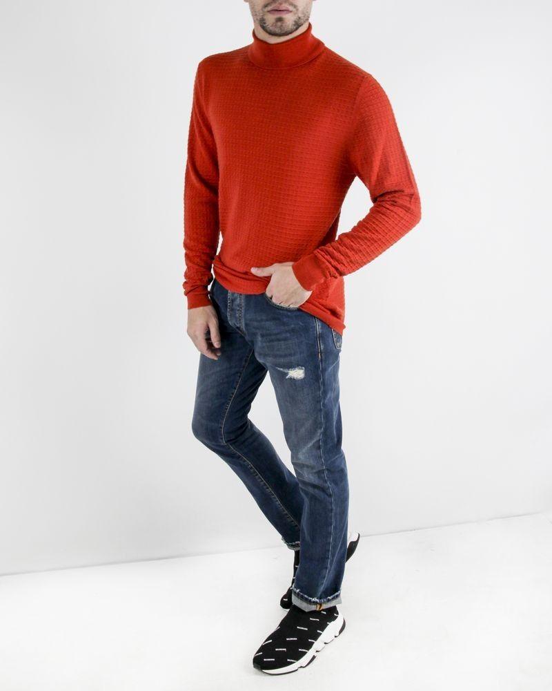 Jean skinny en coton bleu John Richmond