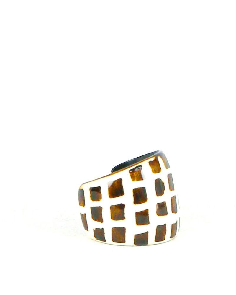Bracelet beige à motifs Liviana Conti