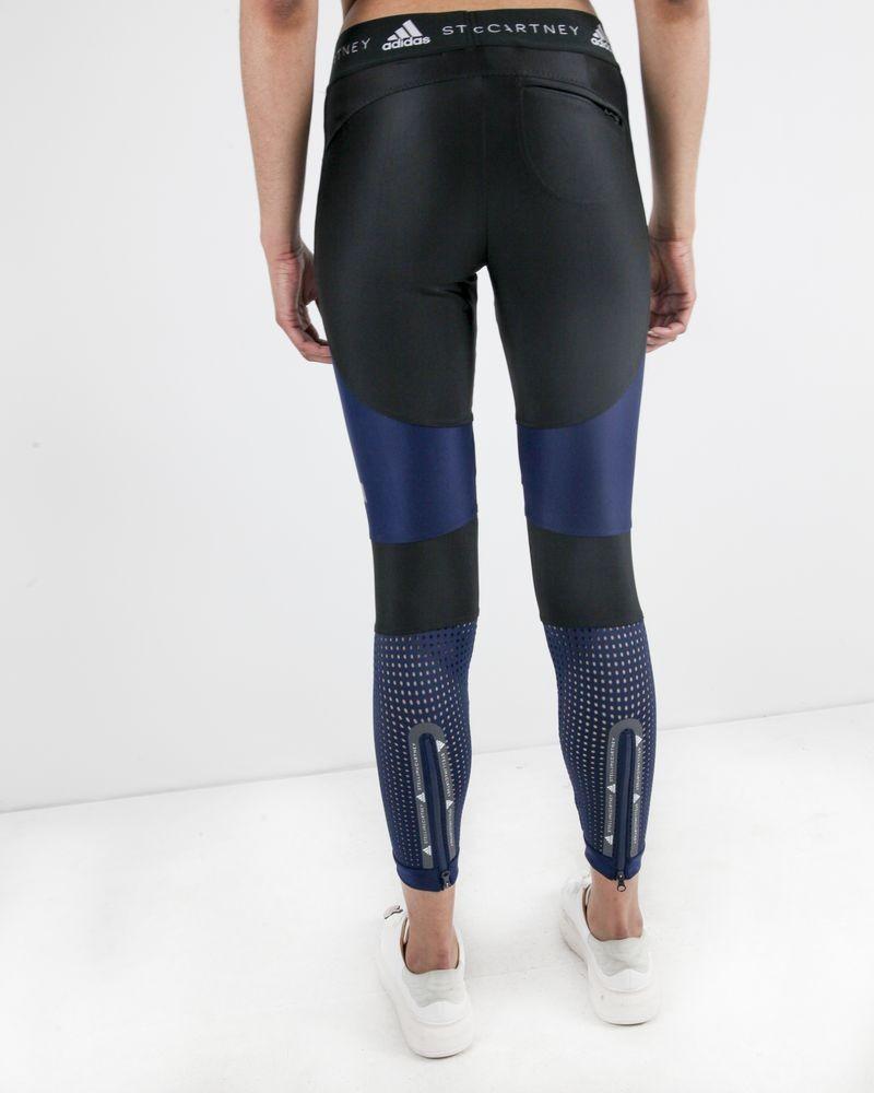 Cycliste technique noir et bleu Adidas